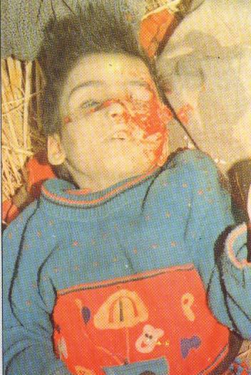 Innocent victims of Pakistan's Terrorism.