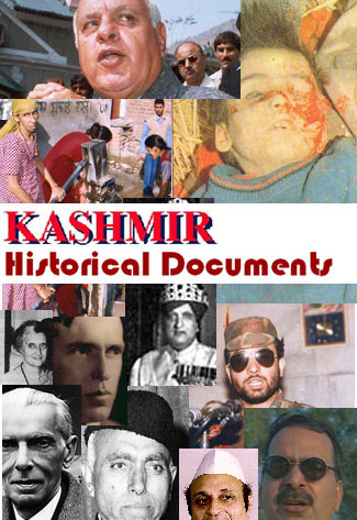 Kashmir: Historical Documents
