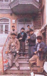 The well-armed Islamic terrorists in Kashmir.