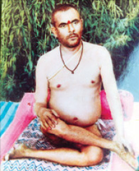 Saint Swami Nand Lal in Aasan.