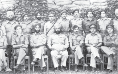 Soldiers of the Poonch Garrison, June 1948.