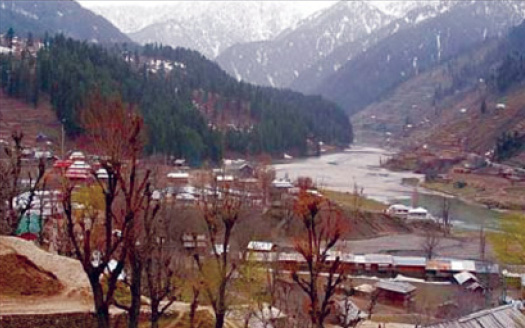 A view of Sardi village.