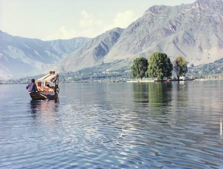 Shikara in Dal Lake, Srinagar