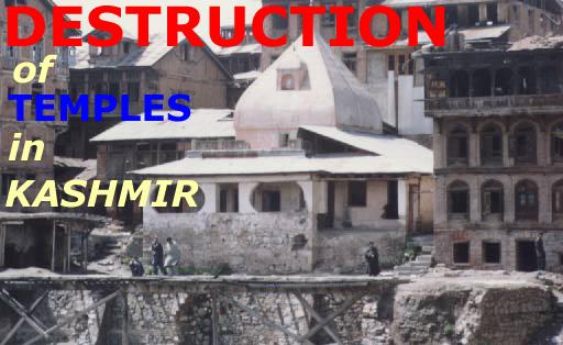 Destruction of Cultural Symbols in Kashmir