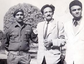 Suraj Tiku with Trilok Koul
