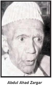 Ahad Zargar