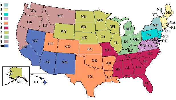 KOA Zonal Map